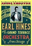 Vintage Earl Hines at Philly Pearl Theater Poster from www.retrophilly.com