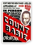 Vintage Count Basie Red Hill Inn Poster from www.retrophilly.com
