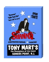 Vintage Del Shannon at Tony Marts Poster from www.retrophilly.com