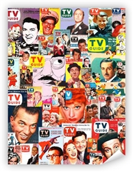 Vintage TV Guide Covers Poster from www.retrophilly.com