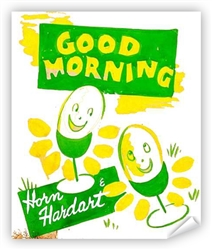 Vintage Good Mornin' at Horn & Hardart Poster from www.retrophilly.com