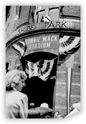 vintage Connie Mack Stadium Print from www.retrophilly.com