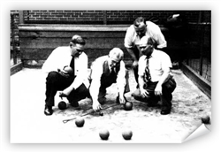vintage South Philadelphia Bocce Print from www.retrophilly.com