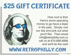 RetroPhilly Gift Certificate from www.retrophilly.com