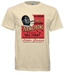 Vintage Louis Armstrong at Philadelphia Latin Casino Tee from www.retrophilly.com