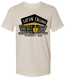 Vintage Philadelphia Latin Casino T-Shirt from www.RetroPhilly.com