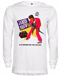 James Brown At Club Harlem Atlantic City T-Shirt from www.retrophilly.com