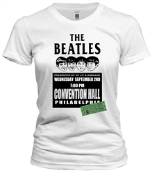 Vintage Beatles '64 Philadelphia T-Shirt from www.retrophilly.com