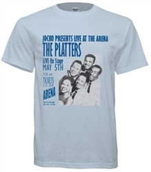 Vintage Jocko Henderson & The Platters at Philadelphia Arena T-Shirt from www.retrophilly.com