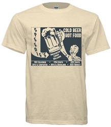 Vintage Speedie's Famous Philadelphia Taproom t-shirt from www.retrophilly.com