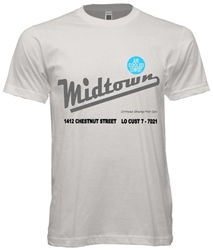 Vintage Philadelphia Midtown Theater T-Shirt from www.retrophilly.com