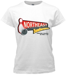 Vintage Northeast Philadelphia Bowlerama Bowling Tee from www.retrophilly.com
