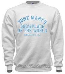 Vintage Tony Marts Somers Point, NJ sweatshirts from www.retrophilly.com