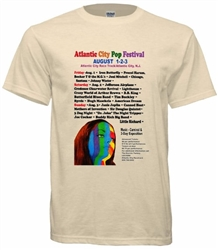 Vintage Atlantic City Pop Festival T-Shirt t-shirt from www.retrophilly.com