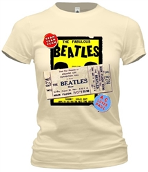 Vintage Beatles at Atlantic City's Convention Hall 1964 t-shirt from www.retrophilly.com