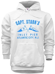 Vintage Captain Starn's famous Atlantic City restaurant and pier t-shirt from www.retrophilly.com