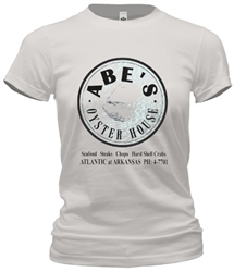 Vintage Abe's Oyster House Atlantic City New Jersey Tee from www.retrophilly.com
