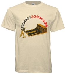 Vintage Atlantic City Boardwalk Skeeball t-shirt from www.retrophilly.com