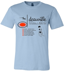 Vintage  Deauville Hotel-Motel Atlantic City T-Shirt from RetroPhilly.com