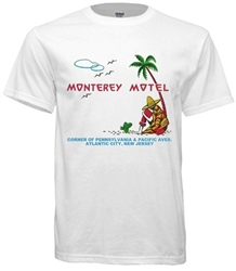Vintage Monterey Motel Atlantic CityT-Shirt from www.retrophilly.com