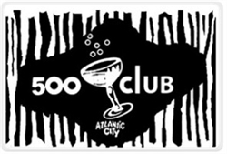 Vintage 500 Club Atlantic City Placemat from www.retrophilly.com