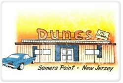 Vintage Dunes Til Dawn Somers Point Placemat from www.retrophilly.com