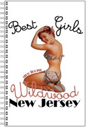 Vintage Wildwood Girls Notebook from www.retrophilly.com