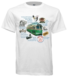 Vintage West Philadelphia Icons T-Shirt from www.retrophilly.com
