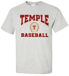 Vintage Temple University Baseball Tee from www.RetroPhilly.com