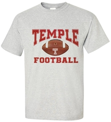 Vintage Temple University Football Tee from www.RetroPhilly.com