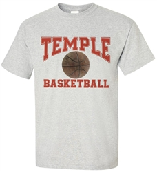 Vintage Temple University Basketball Tee from www.RetroPhilly.com