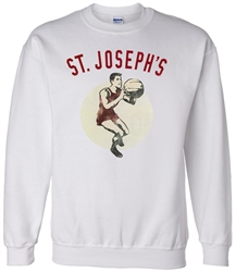 Vintage St Joseph's University Basketball sweatshirts from www.RetroPhilly.com