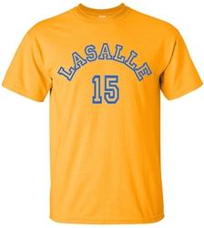 Vintage LaSalle College Tom Gola Tee from www.RetroPhilly.com
