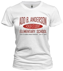 Add B. Anderson Elementary Philadelphia Old School T-Shirt t-shirt from www.retrophilly.com