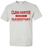 Vintage Clara Barton Elementary Philadelphia old school t-shirt from www.retrophilly.com