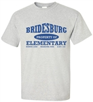 Vintage Bridesburg Elementary Philadelphia Old School T-Shirt from www.RetroPhilly.com