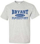 Vintage Bryant Elementary Philadelphia t-shirt from www.retrophilly.com