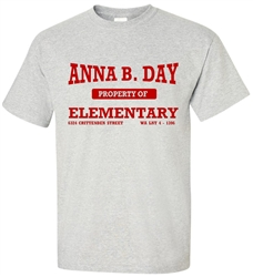 Vintage Anna B. Day Elementary Philadelphia Old School T-Shirt from www.RetroPhilly.com