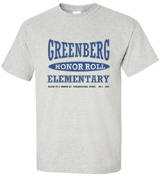 Vintage Greenberg Elementary Philadelphia Old School T-Shirt from www.RetroPhilly.com