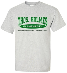 Vintage Holmes Elementary Philadelphia t-shirt from www.retrophilly.com