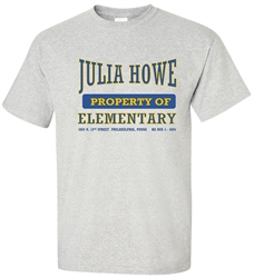 Vintage Howe Elementary Philadelphia t-shirt from www.retrophilly.com