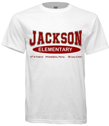 Vintage Jackson Elementary Philadelphia t-shirt from www.retrophilly.com
