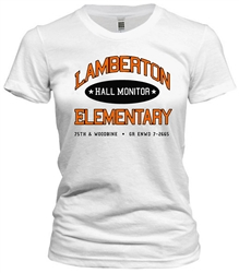 Vintage Lamberton Elementary School Philadelphia t-shirt from www.retrophilly.com