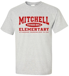 Vintage Mitchell Elementary Philadelphia old school t-shirt from www.retrophilly.com