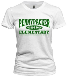 Vintage Pennypacker Elementary Philadelphia old school t-shirt from www.retrophilly.com