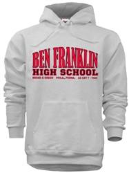 Ben Franklin High Philadelphia Old School Sweatshirts from www.retrophilly.com