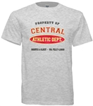 Central High Philadelphia Old School Athletic Department t-shirtshirts from www.retrophilly.com