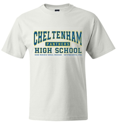 Cheltenham High Old School T-Shirt from www.retrophilly.com