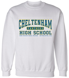 Cheltenham High Old School Sweatshirts from www.retrophilly.com