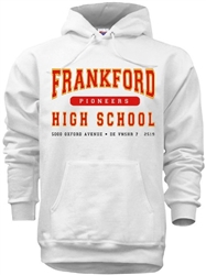 Frankford High School Philadelphia Old School Sweatshirts from www.retrophilly.com
